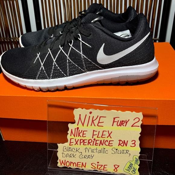 brand new 11135 9484a Nike Fury 2 Nike Flex Experience RN 3-women size 8